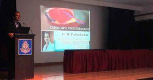 Dr. Padmakumar at Yenepoya Medical College